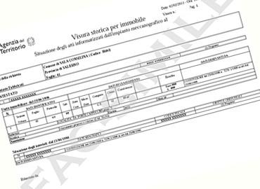 Visura catastale terreni immobili agenziatempus - Visura storica per immobile gratis ...
