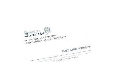 Certificato IVA